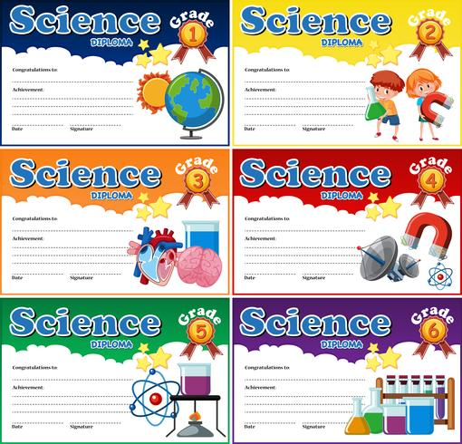 Alla betygsskala för vetenskapsexamen