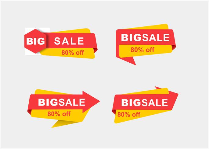 Minimala kreativa shopping vektor marknadsföring band