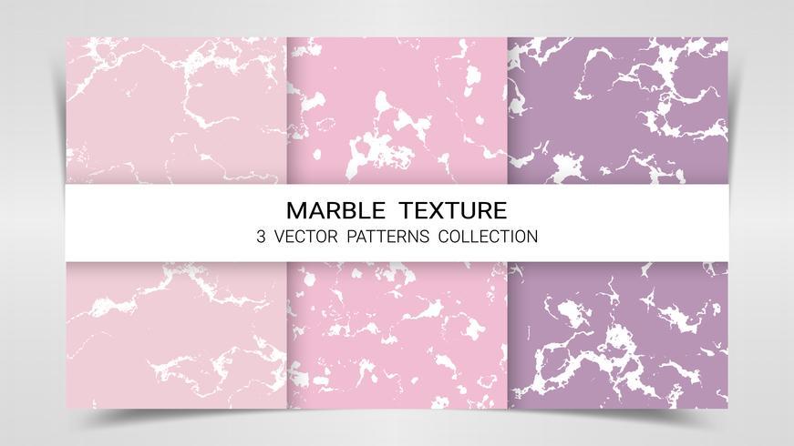 Bakgrund och texturer av Marmor Premium Set Patterns Collection Template.