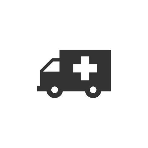 Ambulance Icon Logo Template Illustration Design. Vector EPS 10.