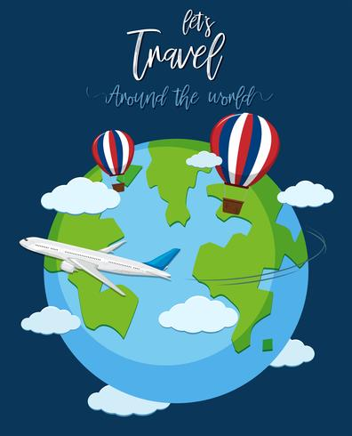 Travel over the world