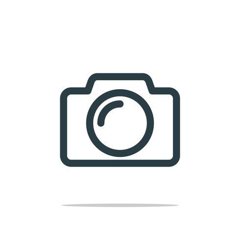 Camera Photography Icon Logo Template Illustration Design. Vector EPS 10.