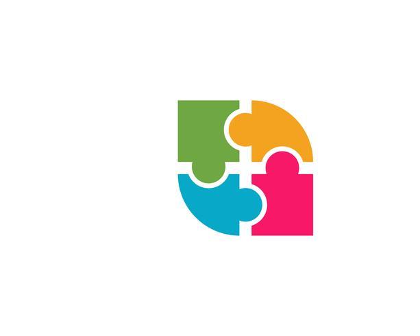 icono de vector de plantilla de logotipo de atención comunitaria