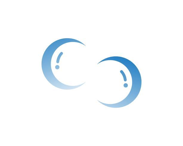Bulles eau illustration - vecteur - vecteur