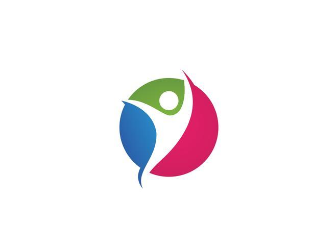 Healthy Life Logo template vector icon  Vector