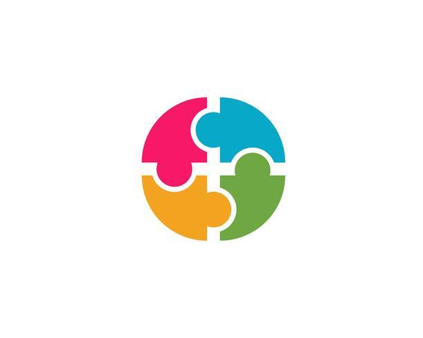 gemeenschap zorg Logo sjabloon vector pictogram