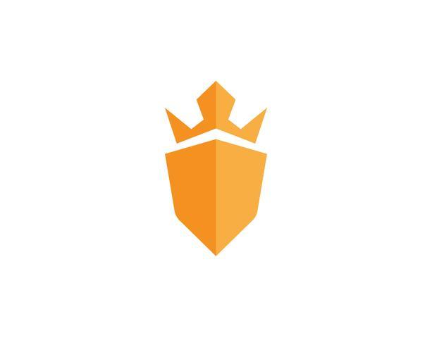 Wachmann Logo Design Vektor Schild