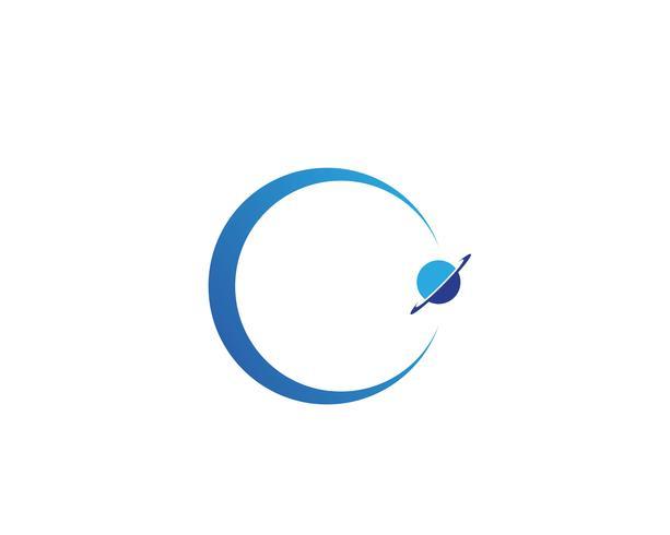 Vettori di logo simbolo mondo globo