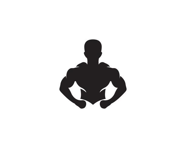 Vektorgegenstand und Ikonen für Sportaufkleber, Turnhallen-Ausweis, Eignung Logo Design