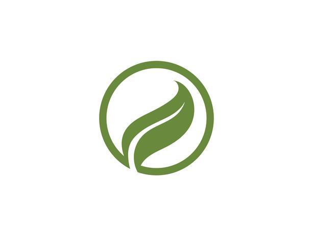 Ecología logo ilustración - Vectores