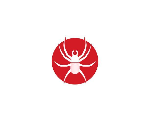 Spinnenlogovektor für Geschäft - Vektoren