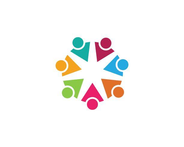 community care Logo template vector icon