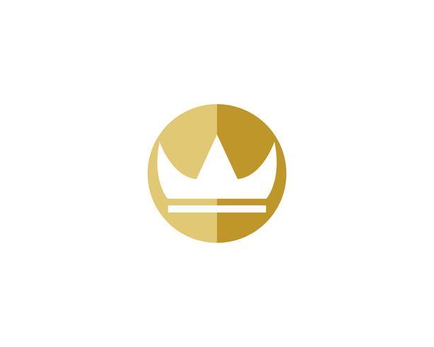 Illustrazione di vettore di corona Logo Template