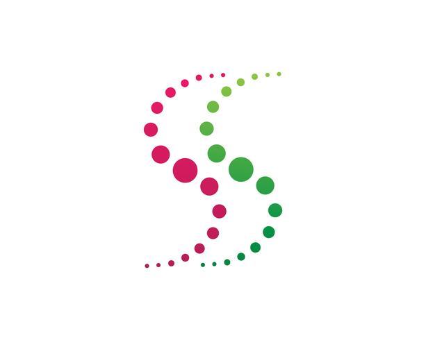 Wirbel Kreis Logo und Symbole Vorlage Vektor