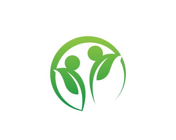 Eco Tree Leaf Logo Mall