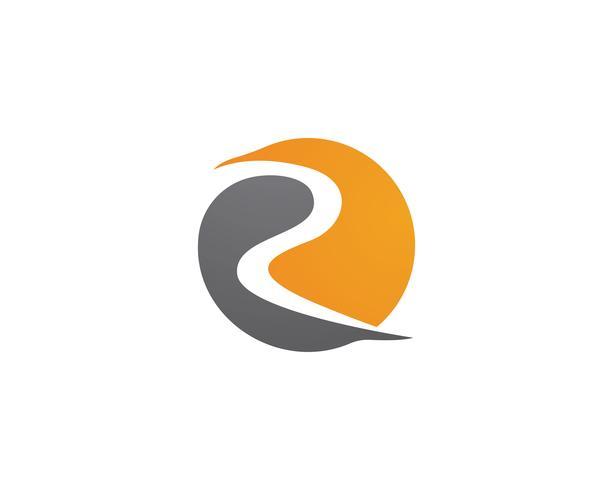 Logo R y vectores de símbolos
