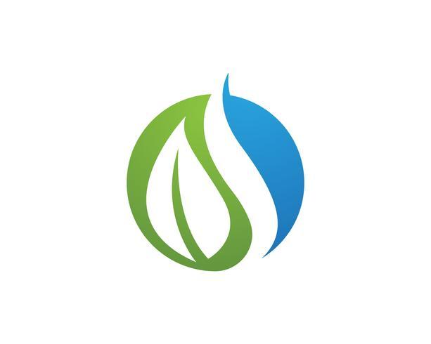 Tree Leaf Vector icon Illustratie ontwerp