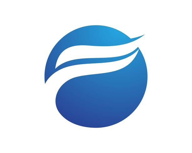 Modèle de logo et symboles F