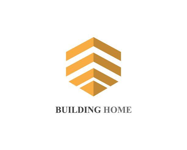 hembyggnader logotyper och symboler ikoner