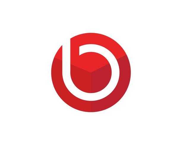 P Logo cirkel illustration Ikon vektor mall