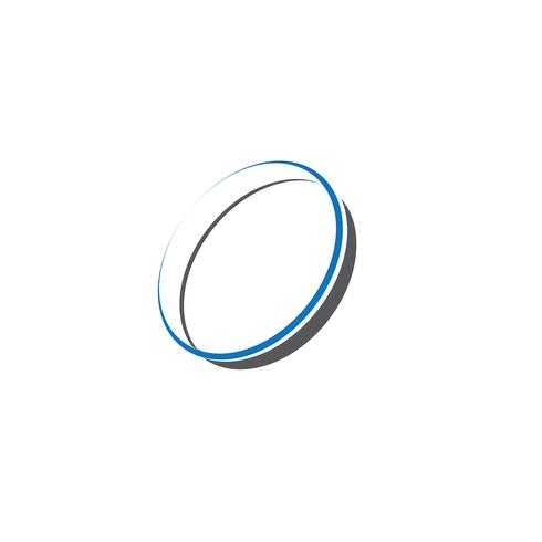 Ring cirkel Logo sjabloon vector