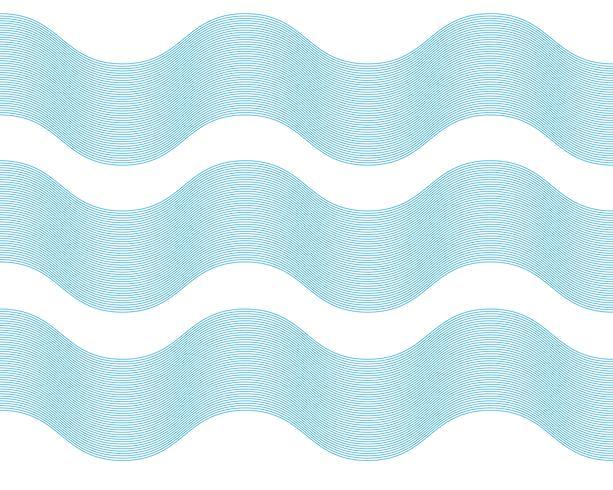 Golf lijn illustratie vectoren