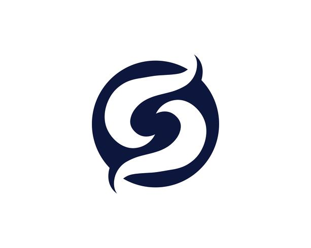 S Logo und Symbol Vektor s