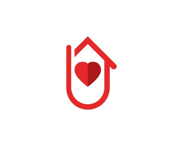 icone di logo e simboli di edifici domestici