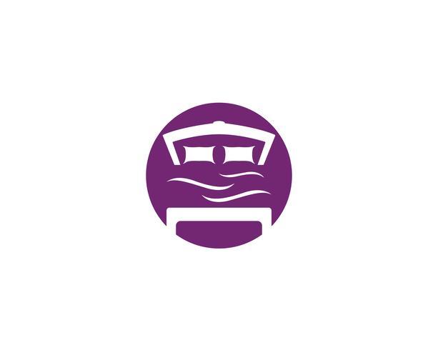 Logo di letto e simbolo logo aziendale logo aziendale