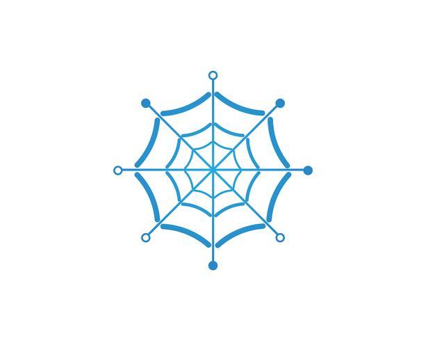 vettore di logo spider per affari - vettori
