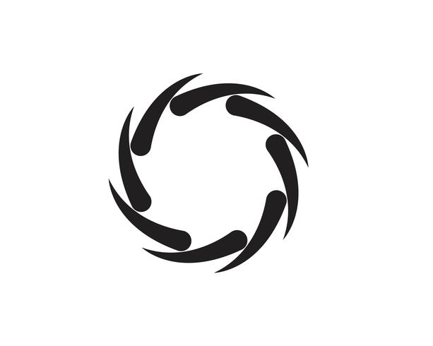 Wirbel-Vektor-Illustration-Symbol