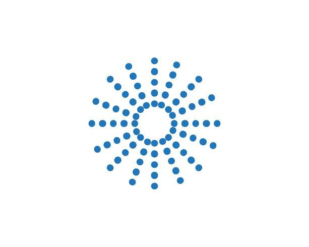 logo de cercle et vecteur de symboles