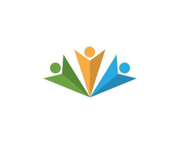 Leadership Star icon Template vector illustration