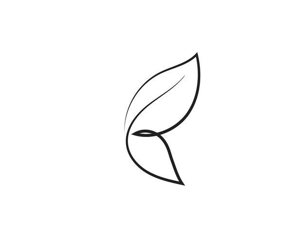 Skönhet Butterfly ikon design