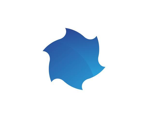 draaikolk vector illustratie pictogram