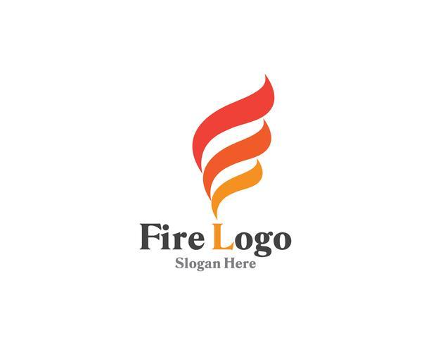 Brandlogotyp symbol gas och oljeviktor