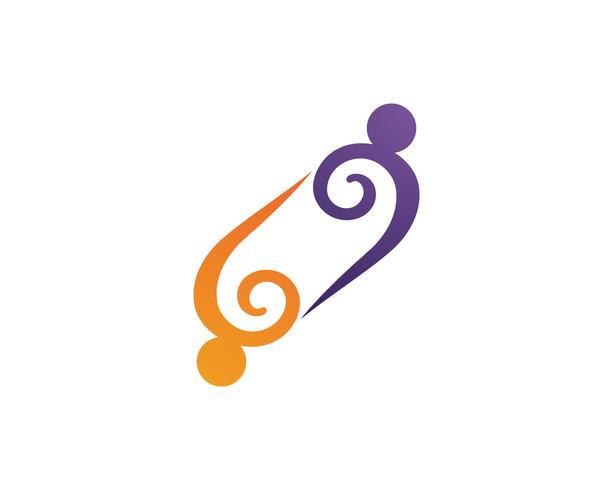 Community group adoption logo vectors