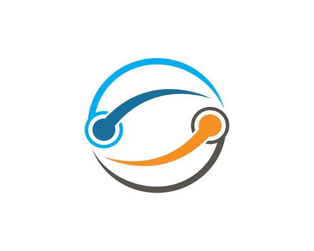 Infinity unit Design Vector icône illustration Logo modèle
