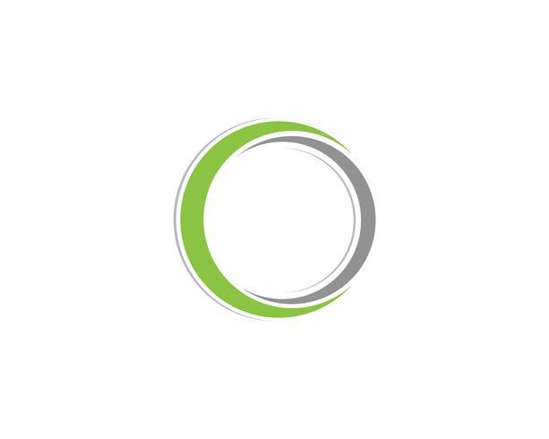 cercle logo et symboles vecteurs