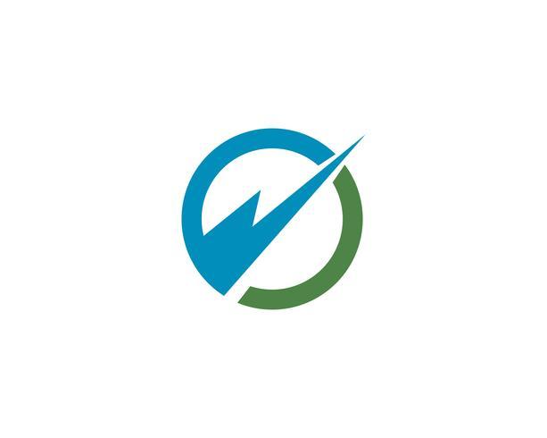 cirkel logotyp och symboler vektor