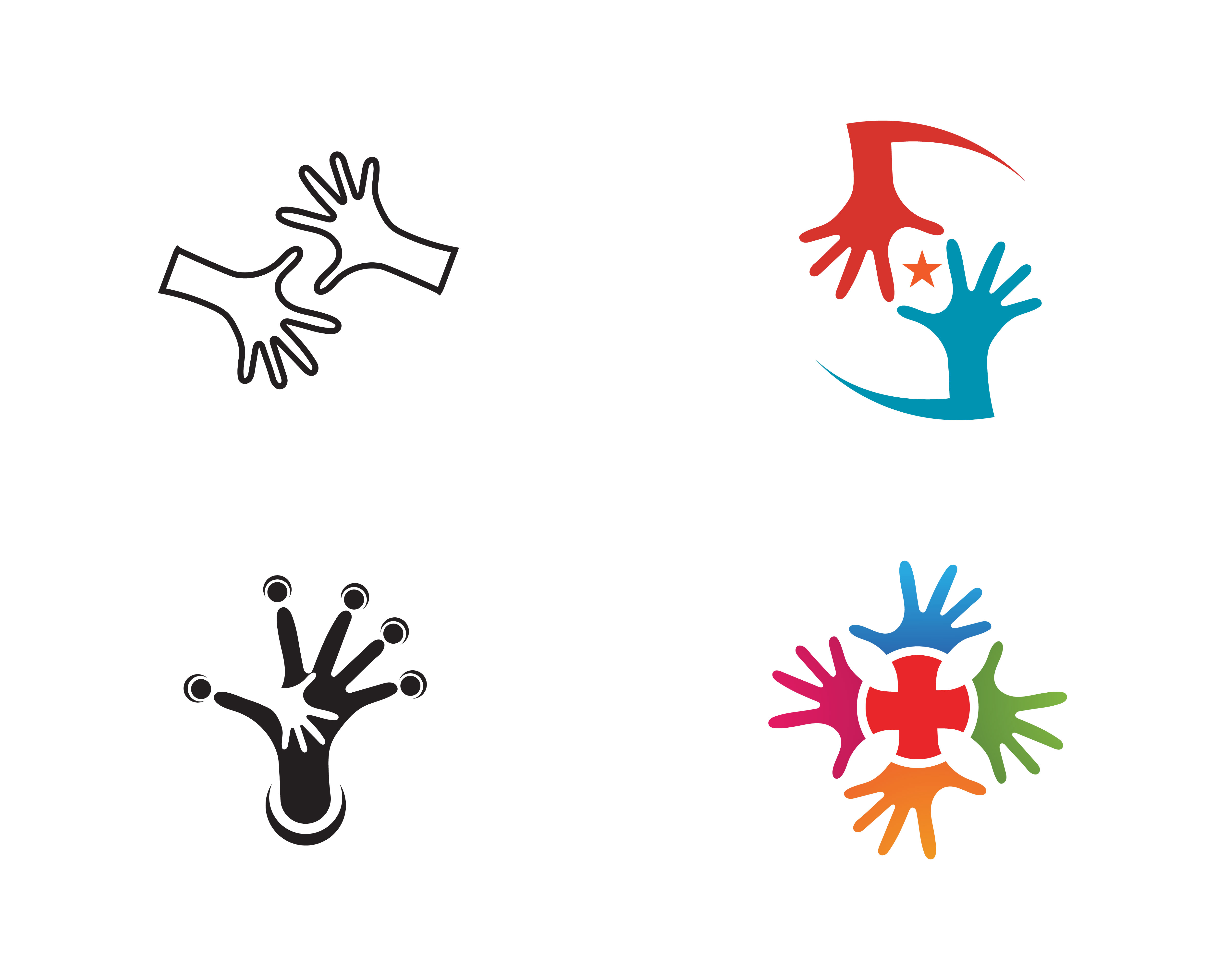 Hand Care Logo Template vector icon Business - Download ...