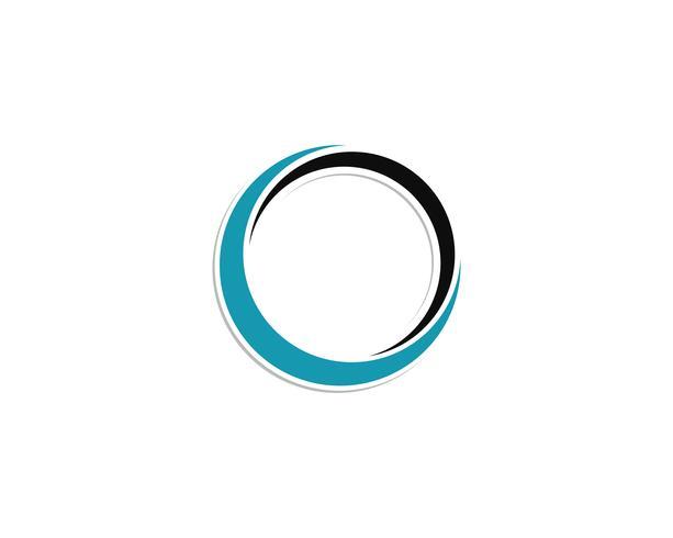 cirkel logo en symbolen Vectoren