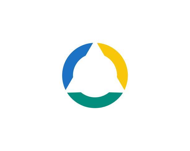 Circle line  Logo Template vector icon