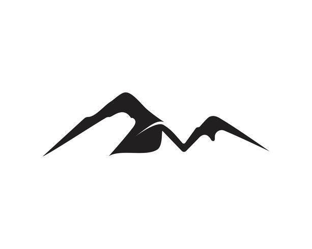 Inspirations du logo minimaliste Landscape Mountain vecteur