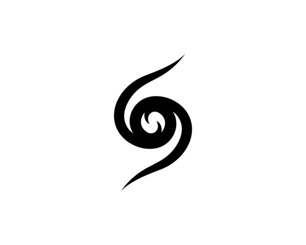 S logo e simbolo vettoriale s