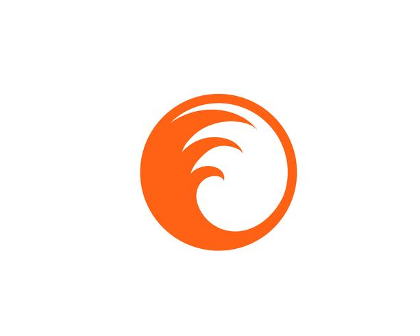 Feuer Flamme Logo Template Vektor-Symbol Öl, Gas und Energie-Logo