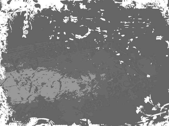 Fondo con textura grunge. Ilustracion vectorial vector