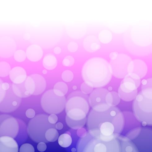 Purple background with defocused lights - Vector
