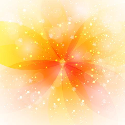 Fond de feuille de lueur jaune. illustration vectorielle.