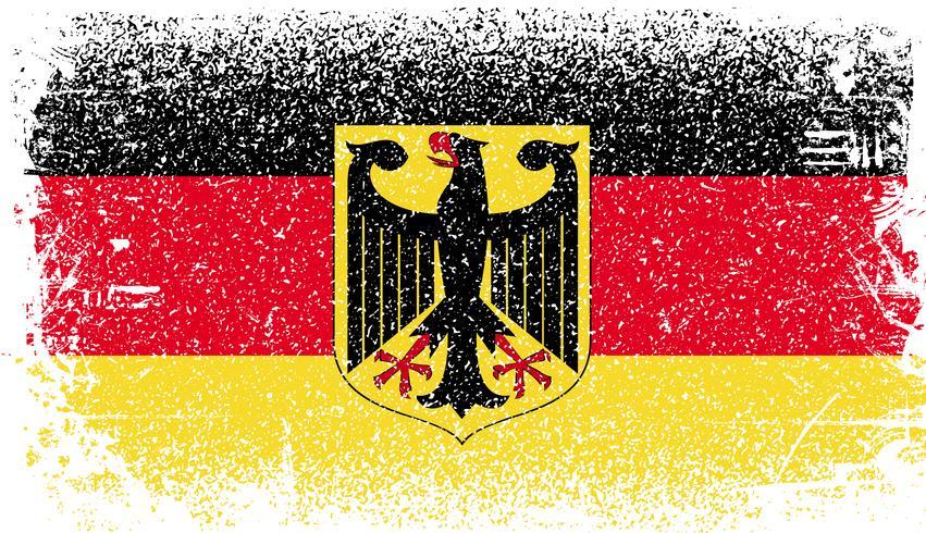 Bandeira do grunge de Alemanha